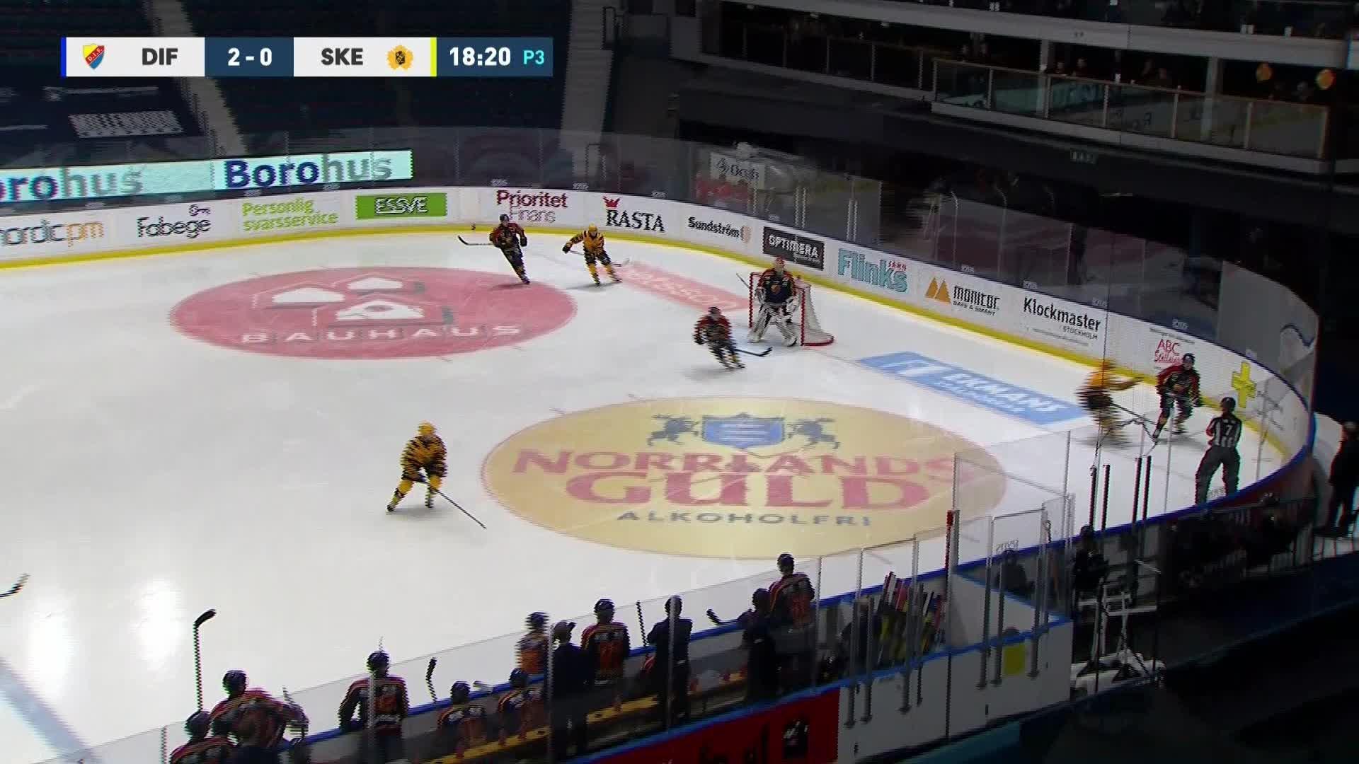 Djurgården Hockey - Skellefteå AIK 2-1