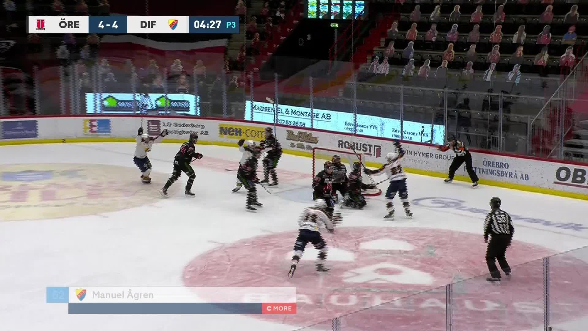 Örebro Hockey - Djurgården Hockey 4-5