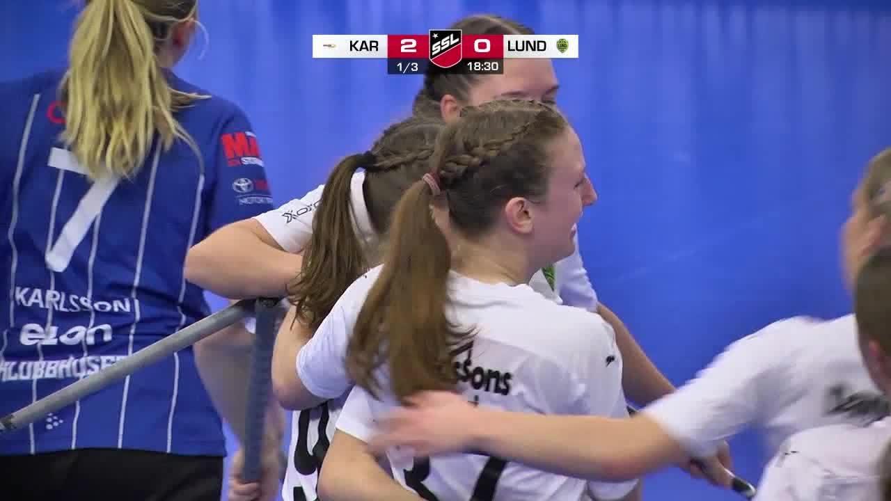 Highlights: Karlstad Innebandy - IBK Lund