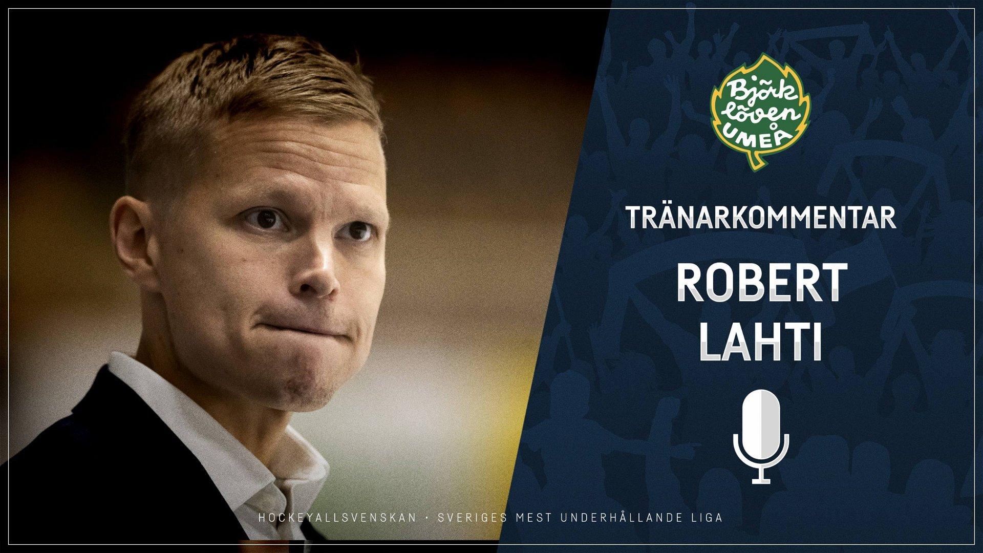 2020-10-18 Segerintervju: Robert Lahti, Björklöven