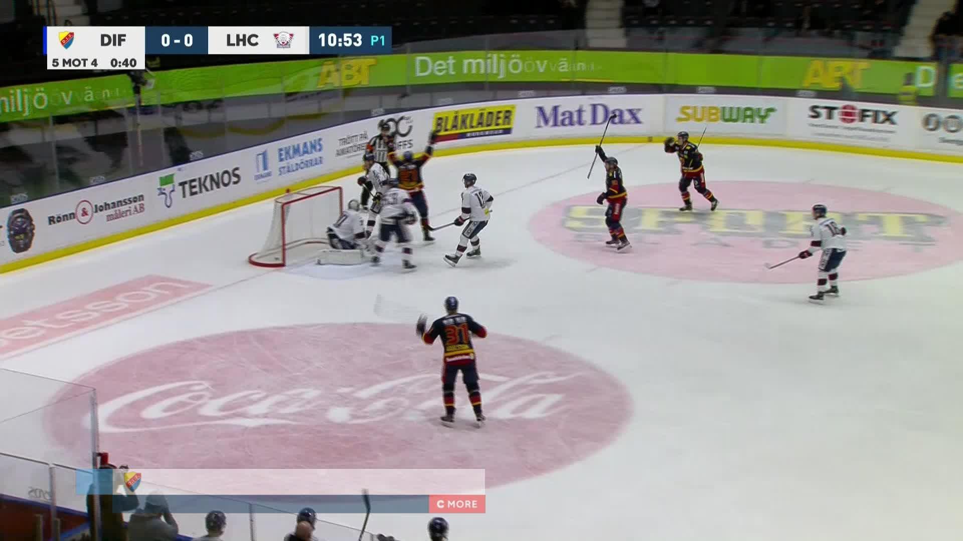 Djurgården Hockey - Linköping HC 1-0