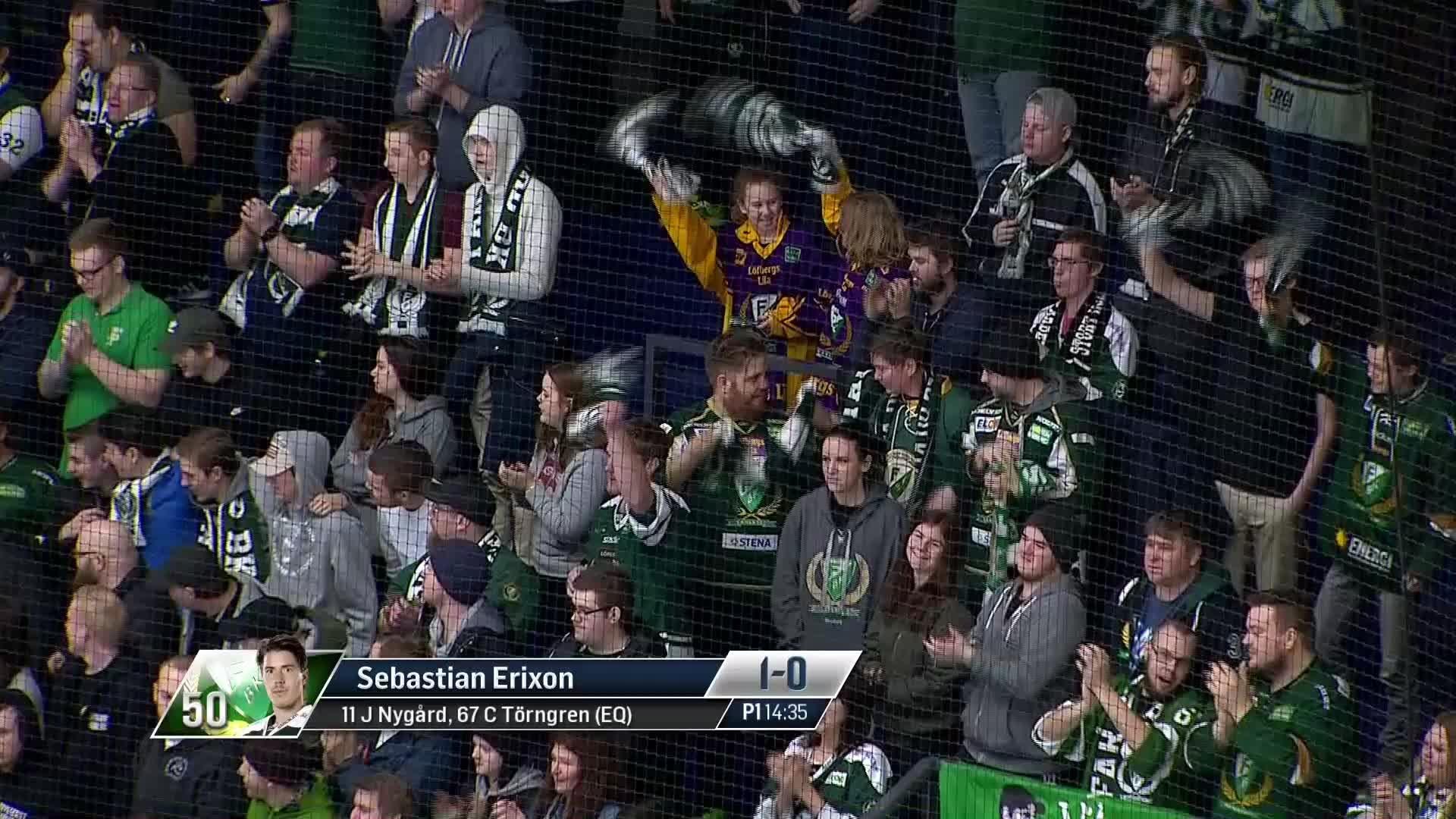 Färjestad BK - Luleå Hockey 1-0