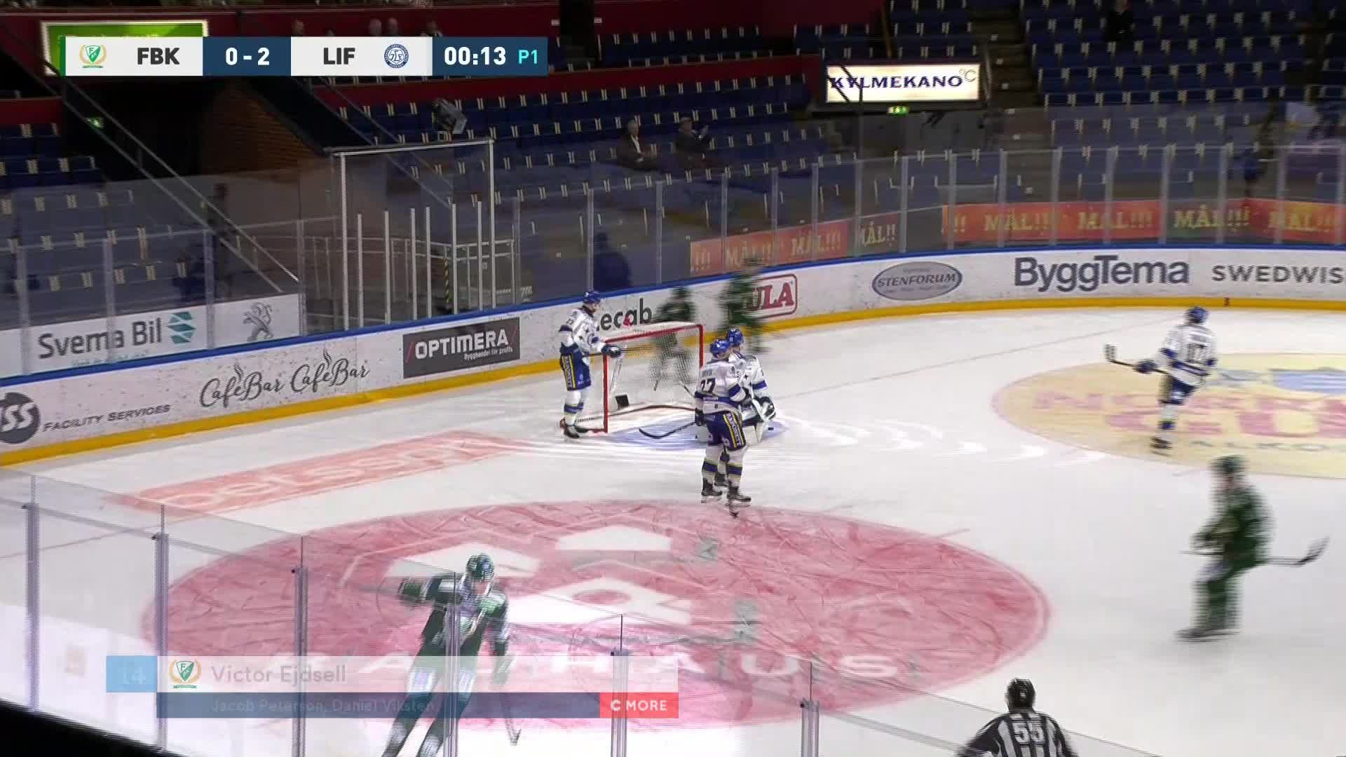 Färjestad BK - Leksands IF 1-2