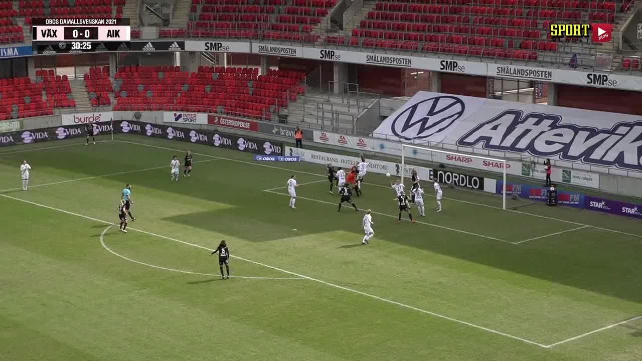 Highlights: Växjö DFF - AIK