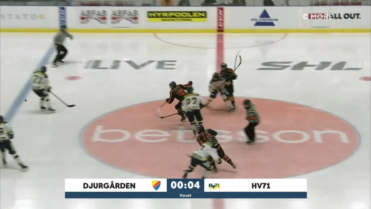 Highlights: Djurgården-HV71 26 sept