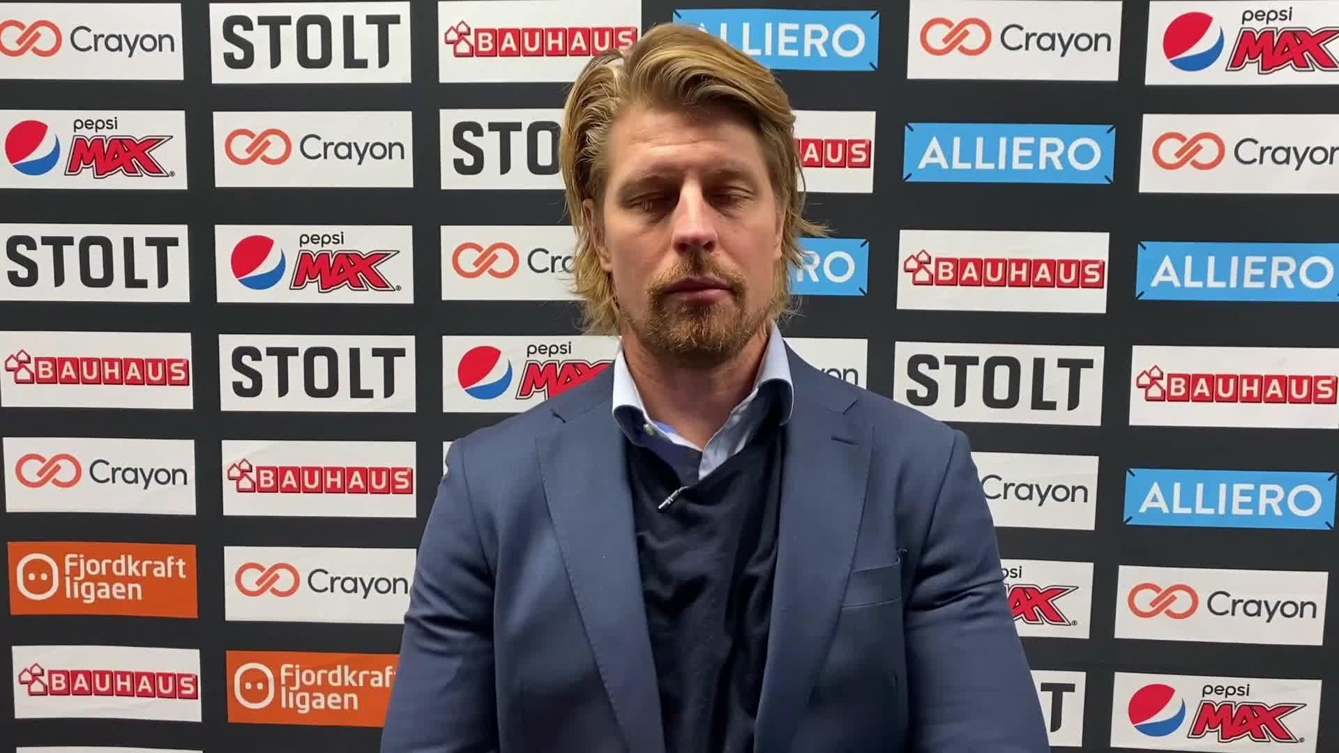 Morten Ask etter Lillehammer-matchen