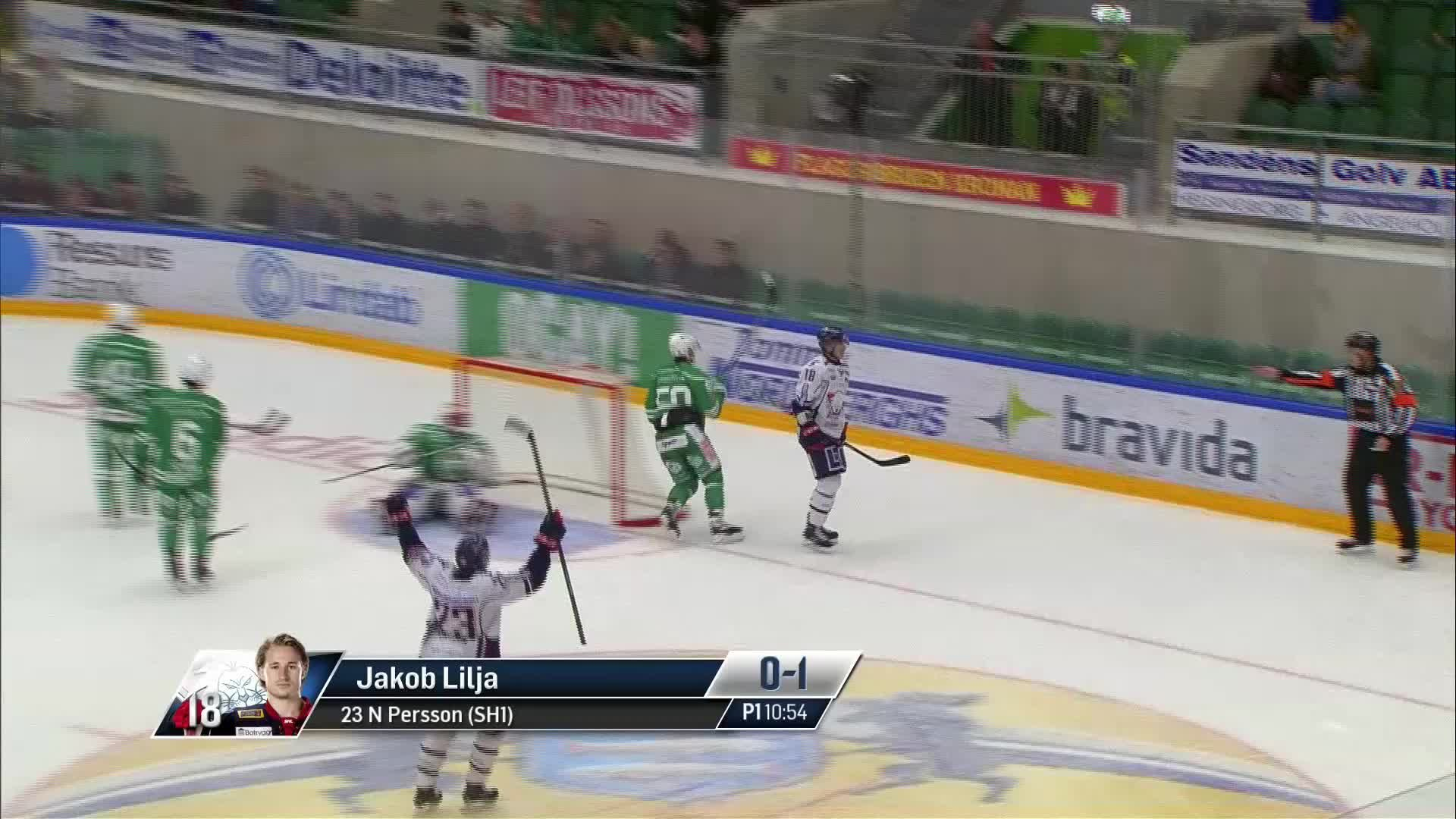 Rögle BK - Linköping HC 0-1