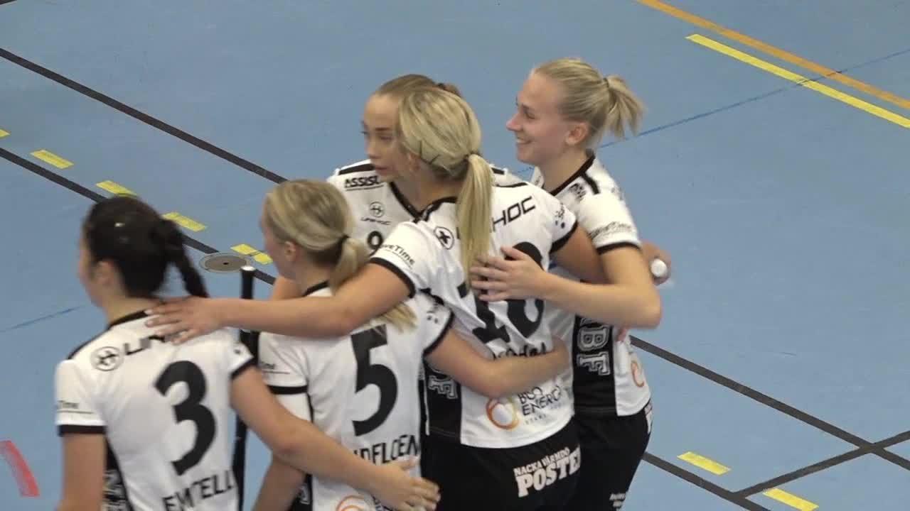 Highlights: Nacka IBK-Västerås Rönnby IBK
