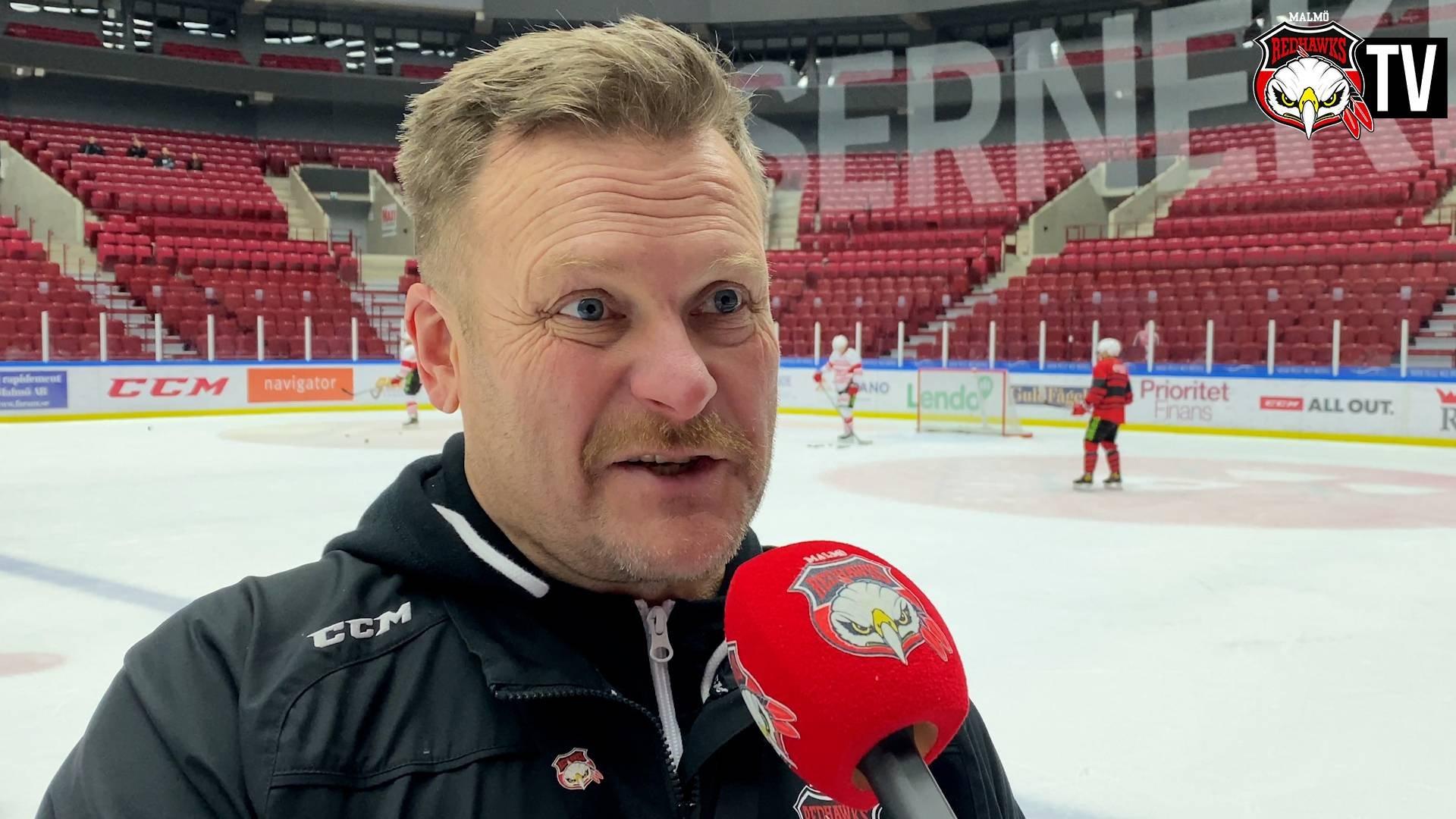 TV: Fagervall inför bortamötet med Skellefteå