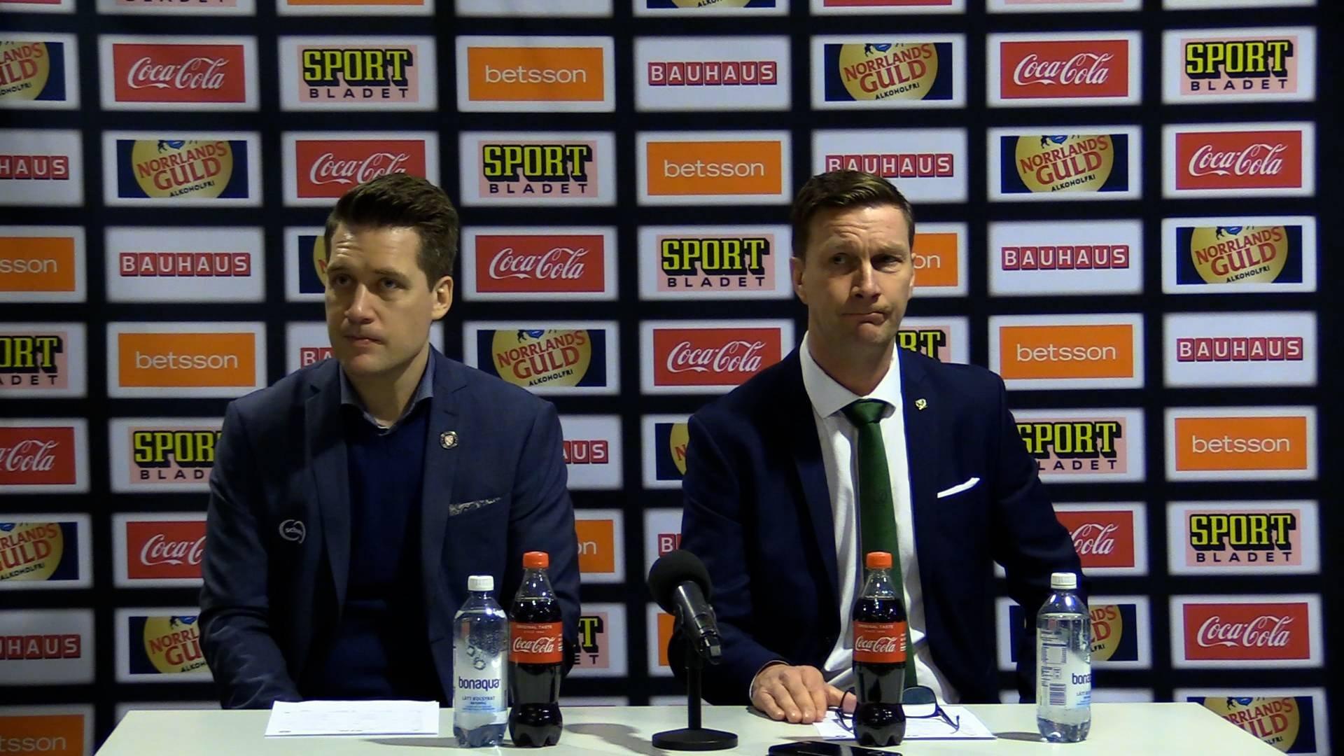Presskonferens | Kvartsfinal 4
