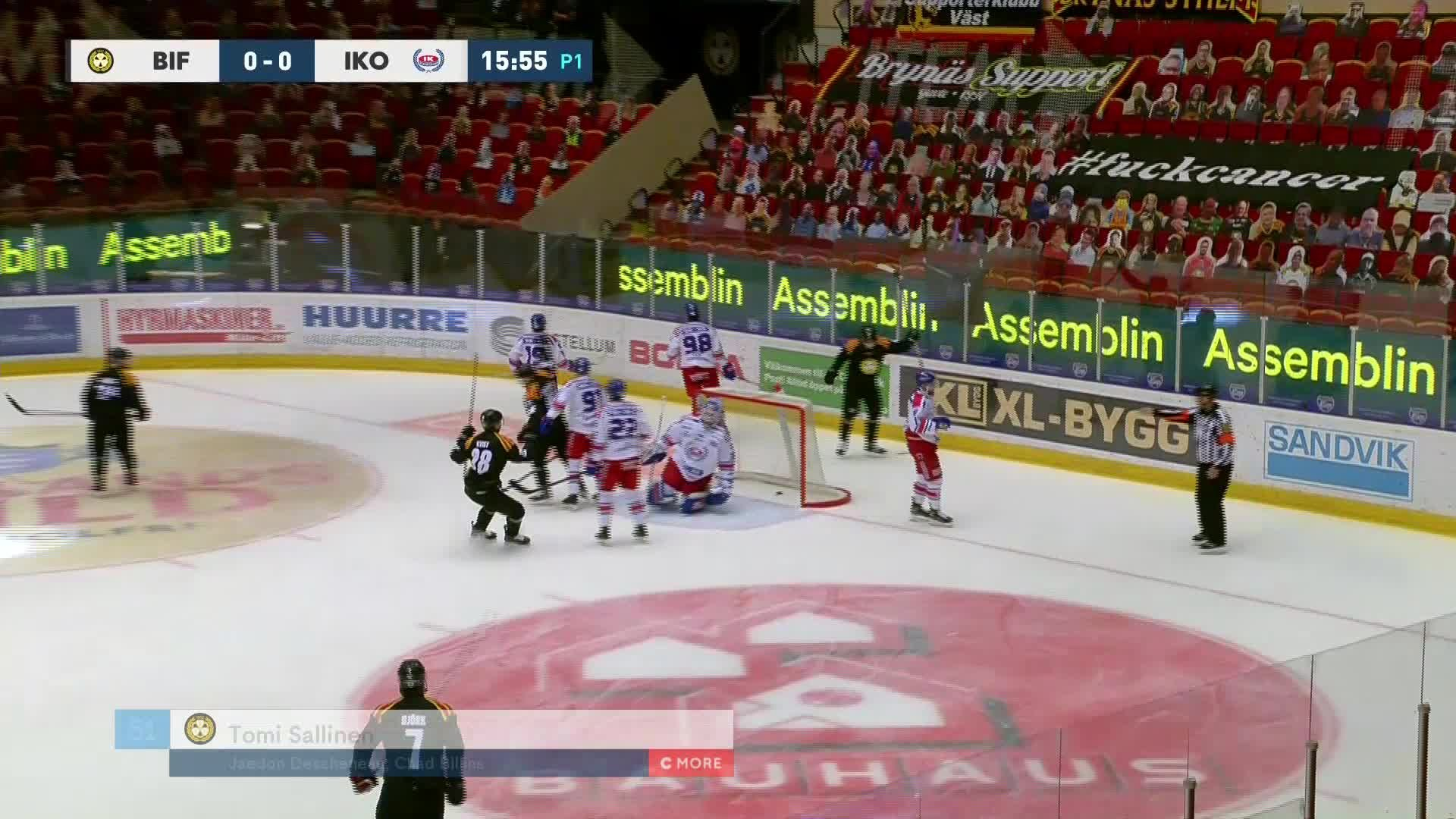 Brynäs IF - IK Oskarshamn 1-0