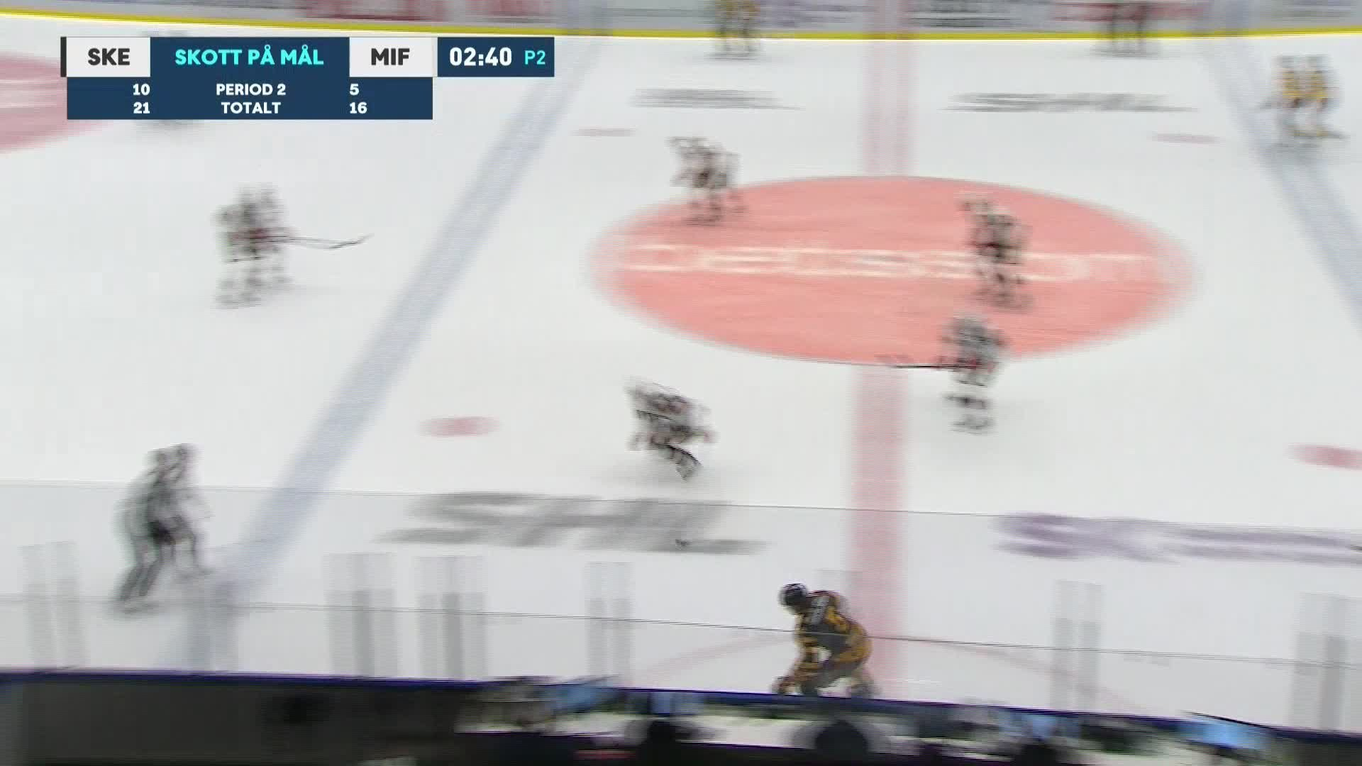 Skellefteå AIK - Malmö Redhawks 2-3