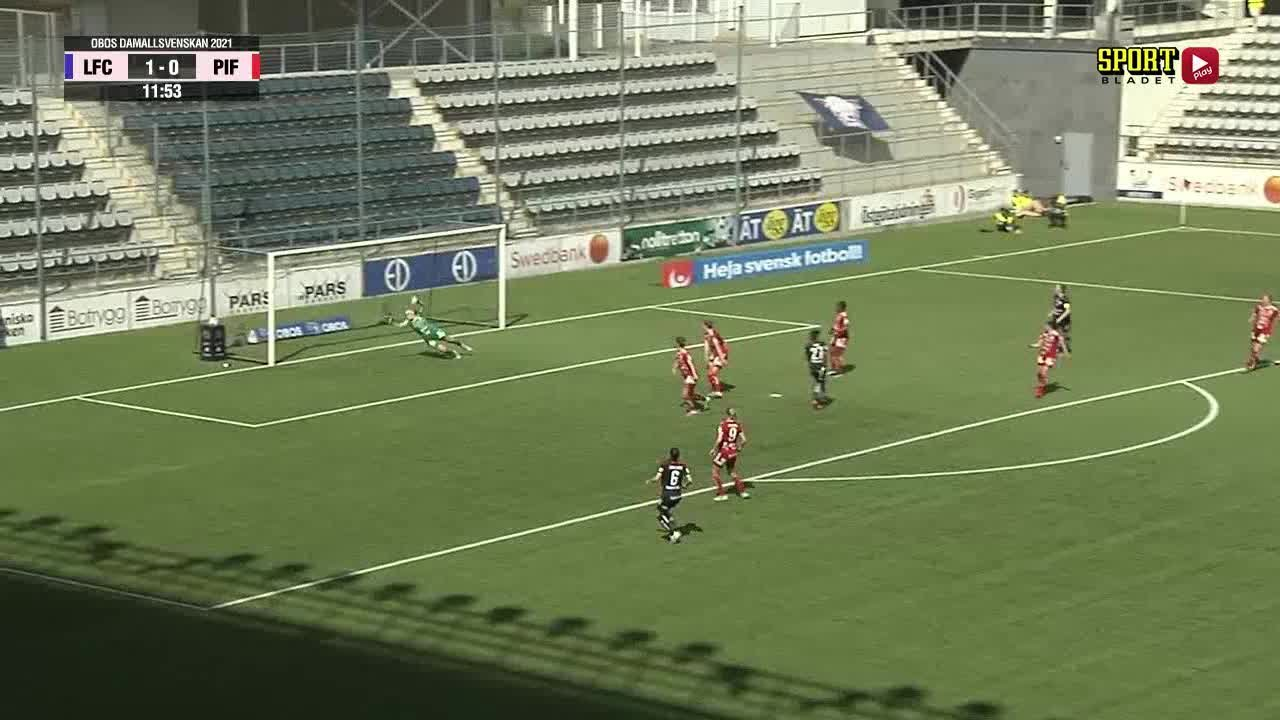 Highlights:: Linköpings FC - Piteå IF DFF