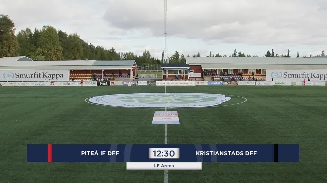 Highlights: Piteå - Kristianstad 6 sept