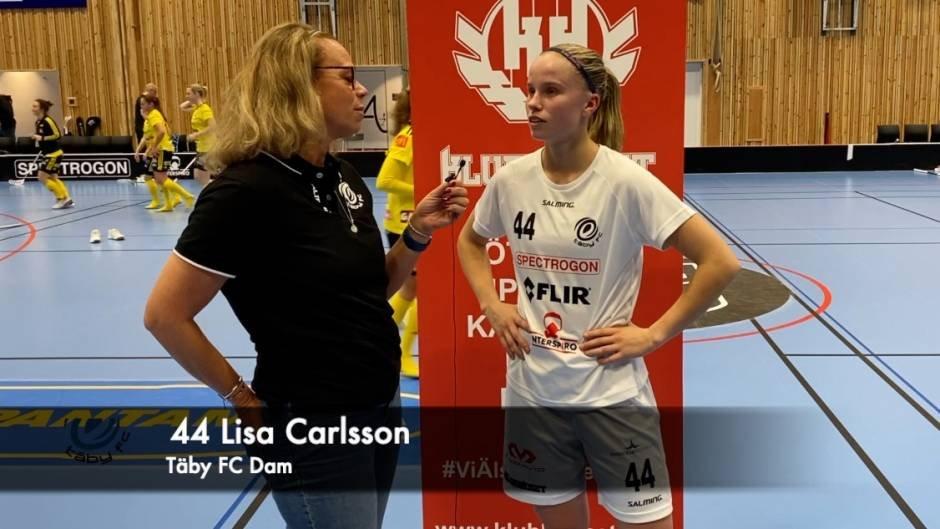 Intervju Lisa Carlsson efter Endre-matchen