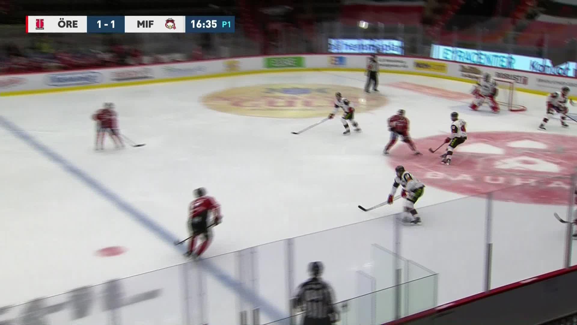 Örebro Hockey - Malmö Redhawks 2-1