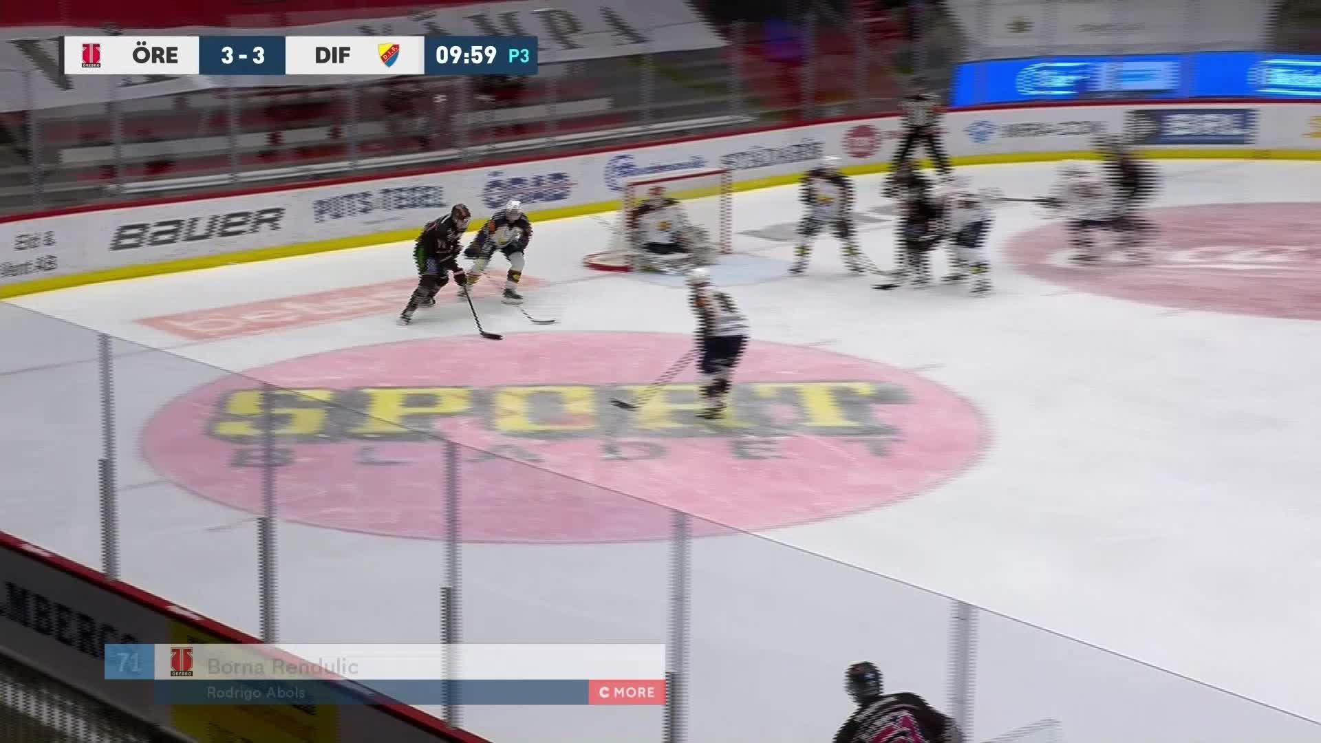 Örebro Hockey - Djurgården Hockey 4-3