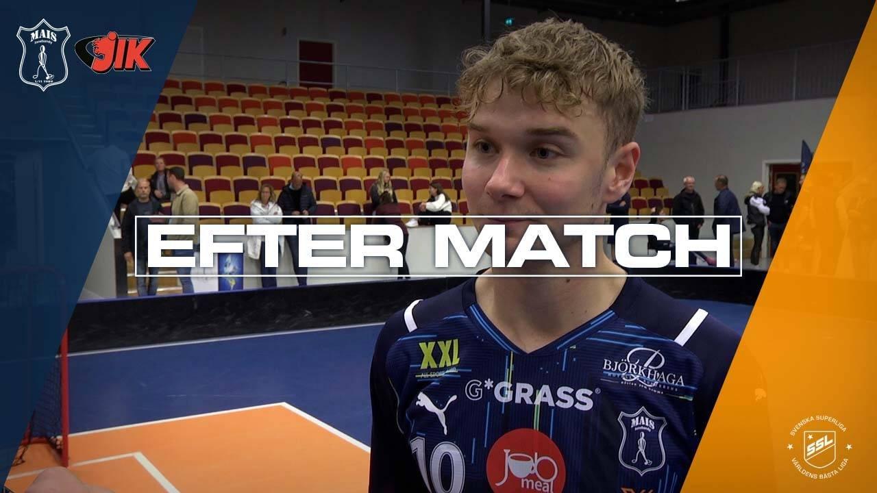Karlsson efter segern mot JIK i Svenska Cupen