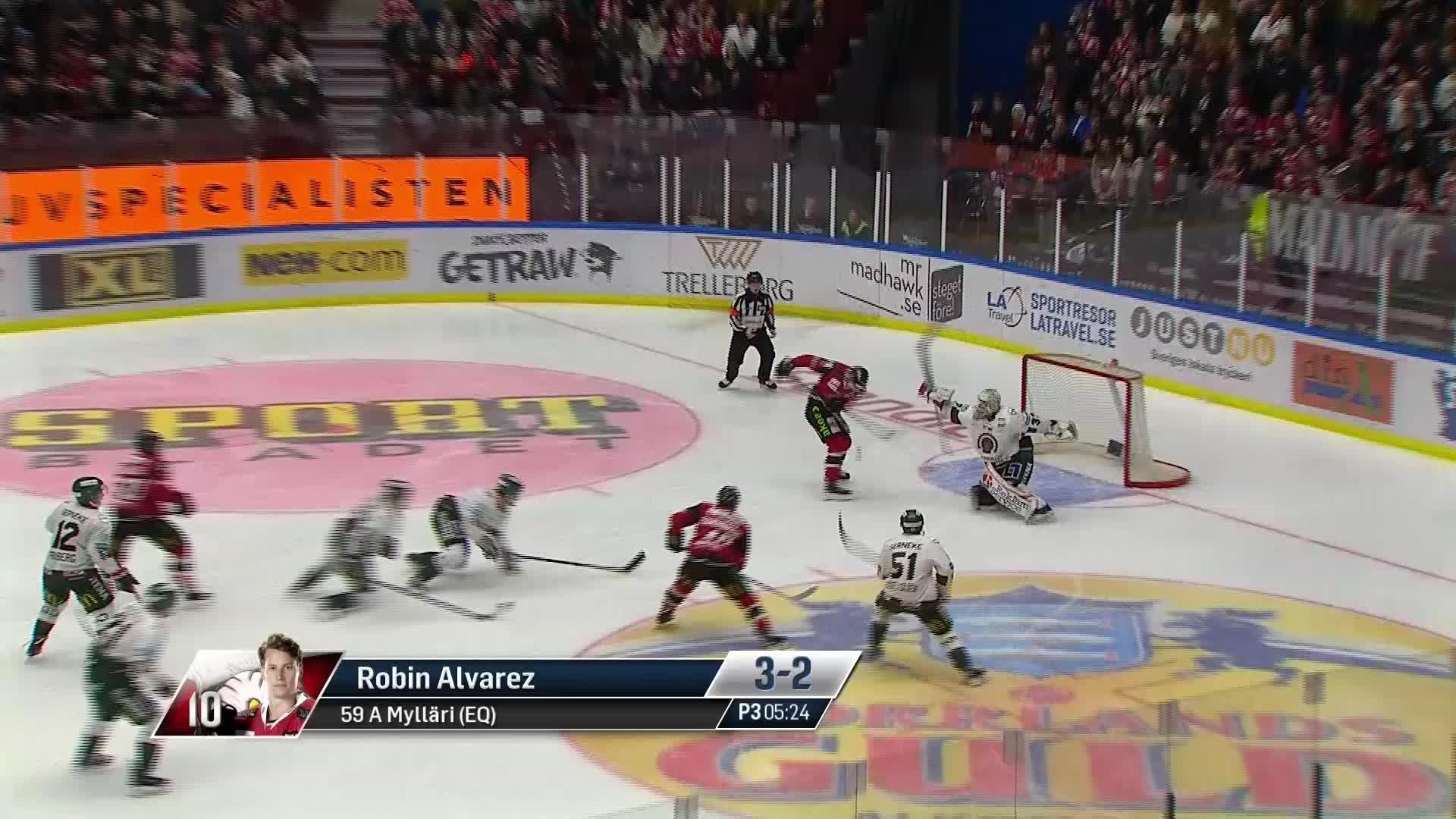 Malmö Redhawks - Frölunda HC 3-2
