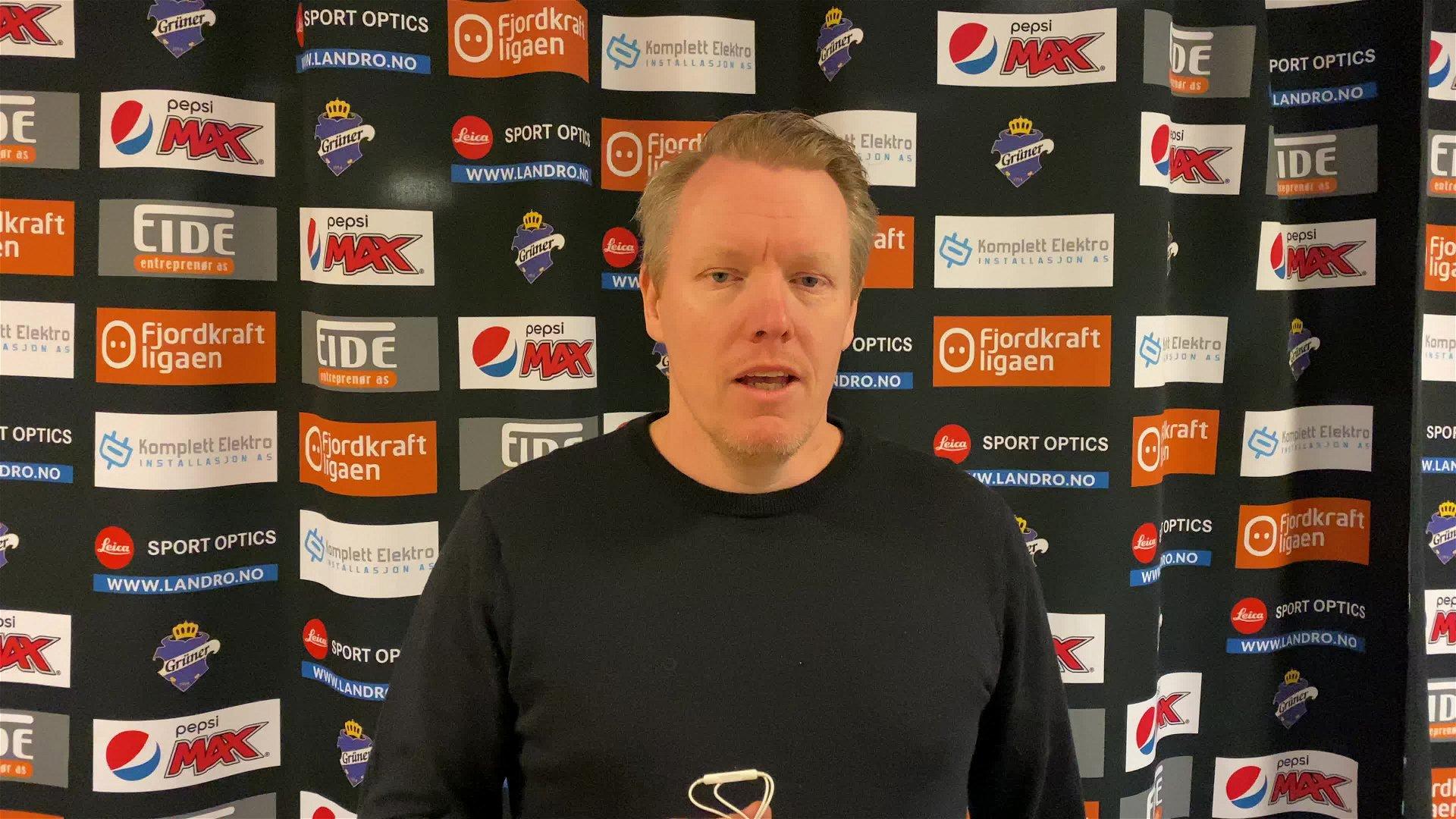 Morten Elverud om 3-1 mot Narvik og sesongstarten