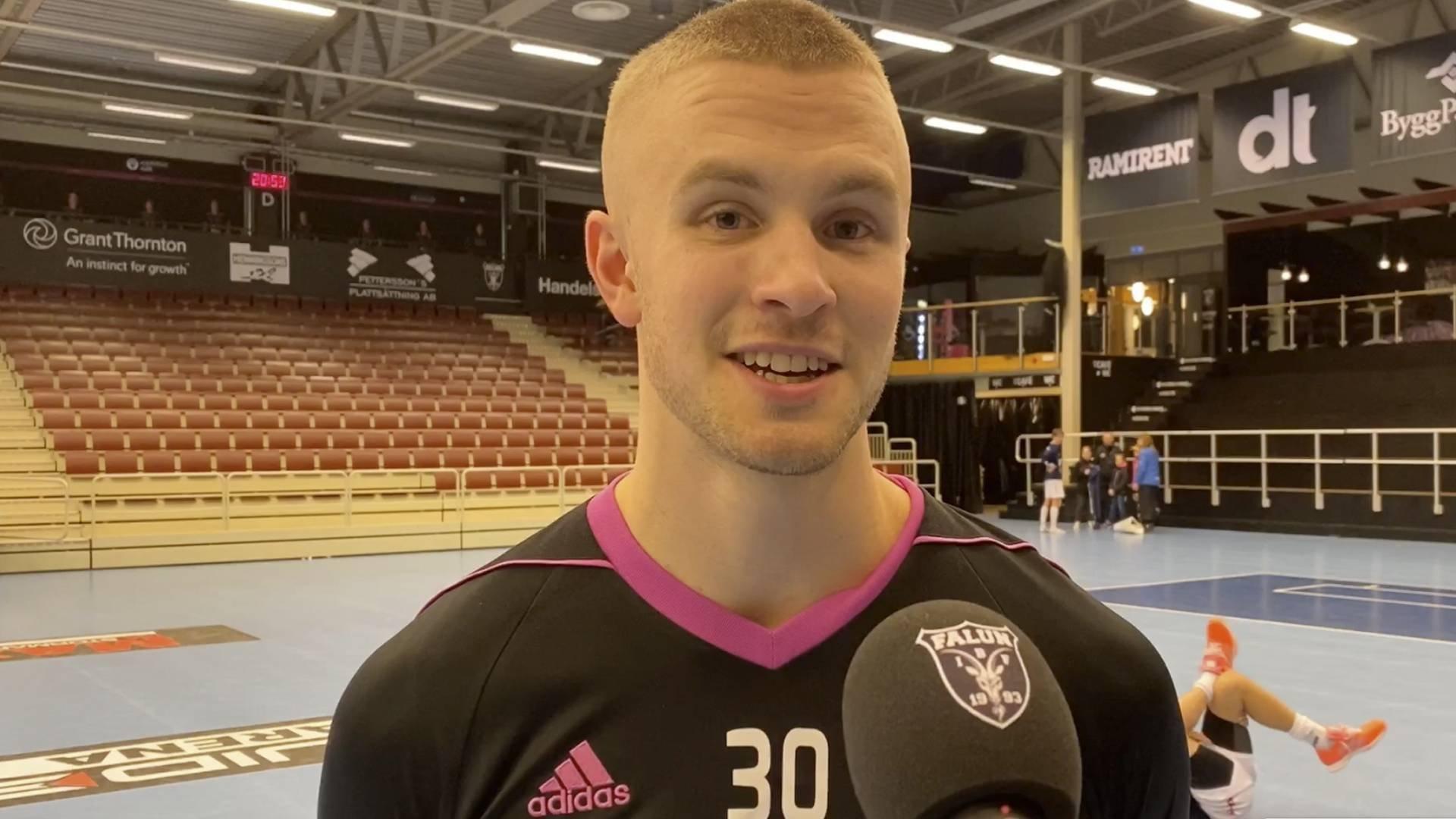 Emil Lilja efter tre poäng mot Växjö