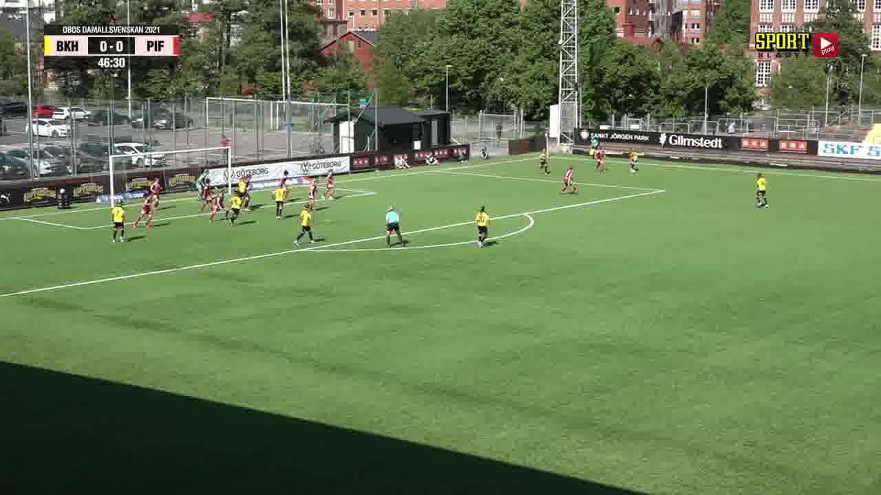 Highlights: BK Häcken - Piteå IF DFF