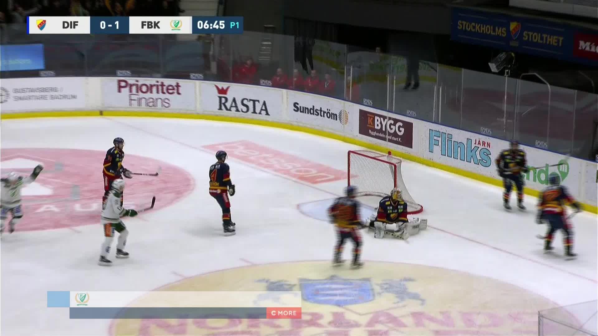 Djurgården Hockey - Färjestad BK 0-2