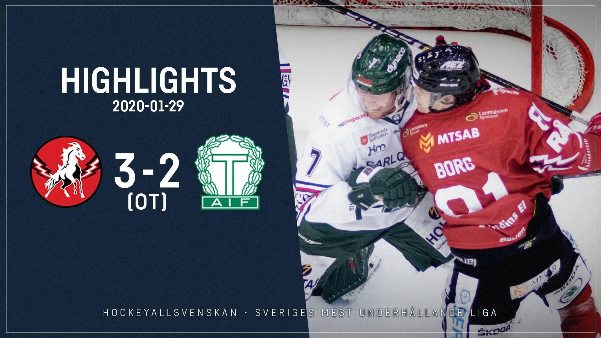 2020-01-29 Vita Hästen - Tingsryd 3-2 (OT)