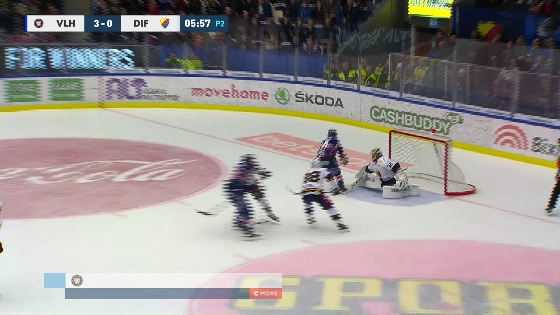 Växjö Lakers - Djurgården Hockey 4-0