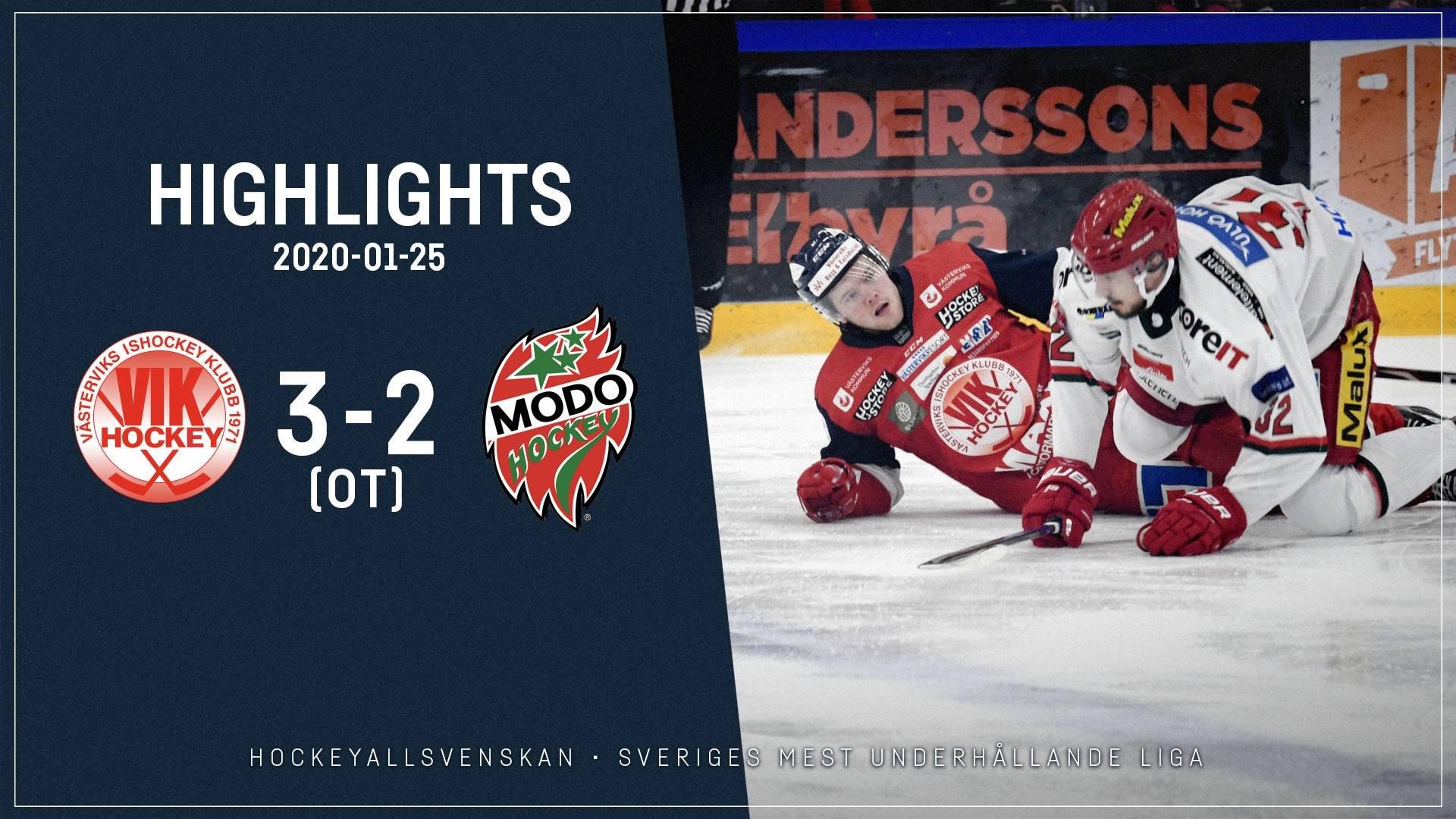 2020-01-25 Västervik - MODO 3-2 (OT)