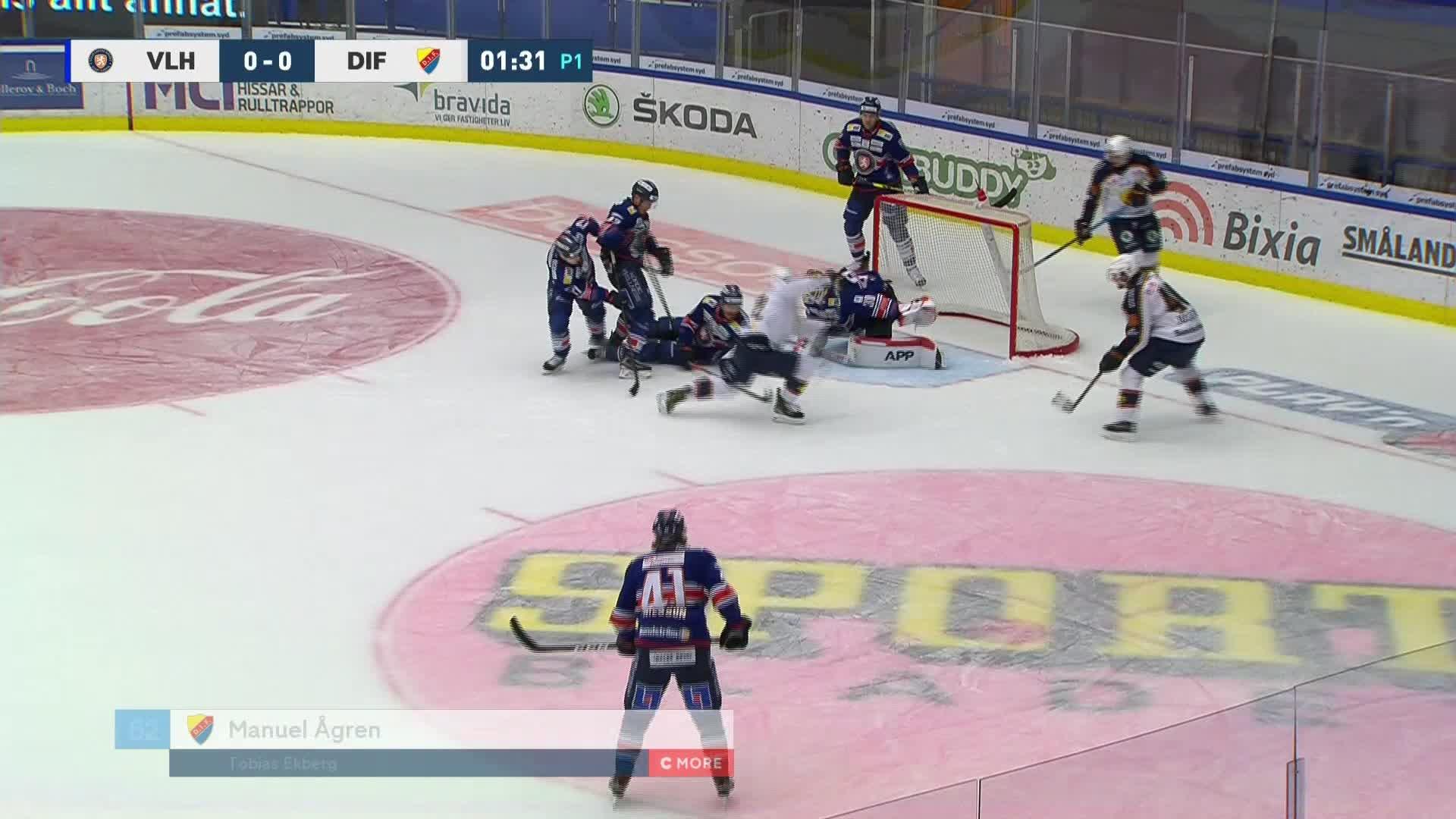 Växjö Lakers - Djurgården Hockey 0-1