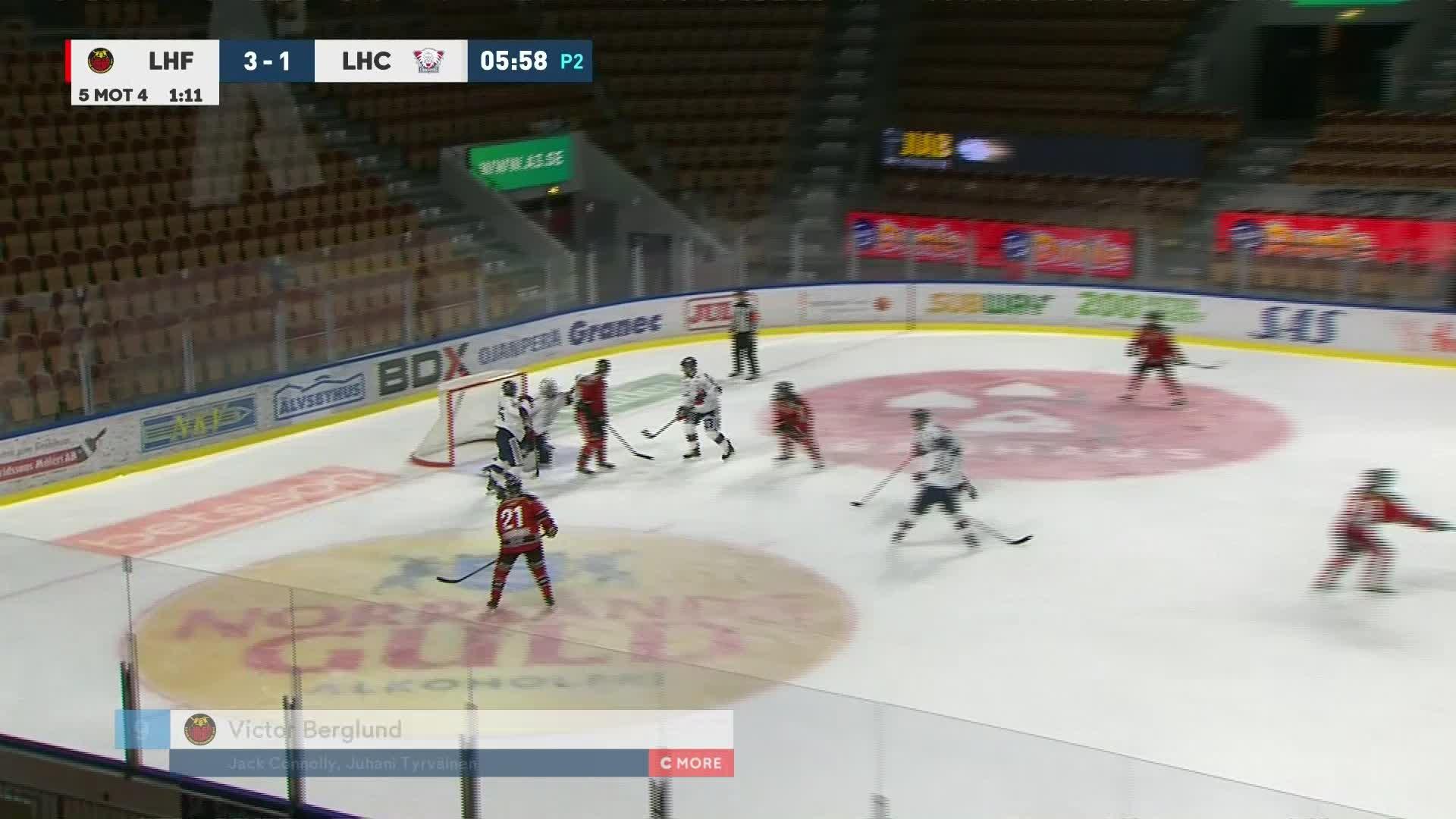 Luleå Hockey - Linköping HC 4-1