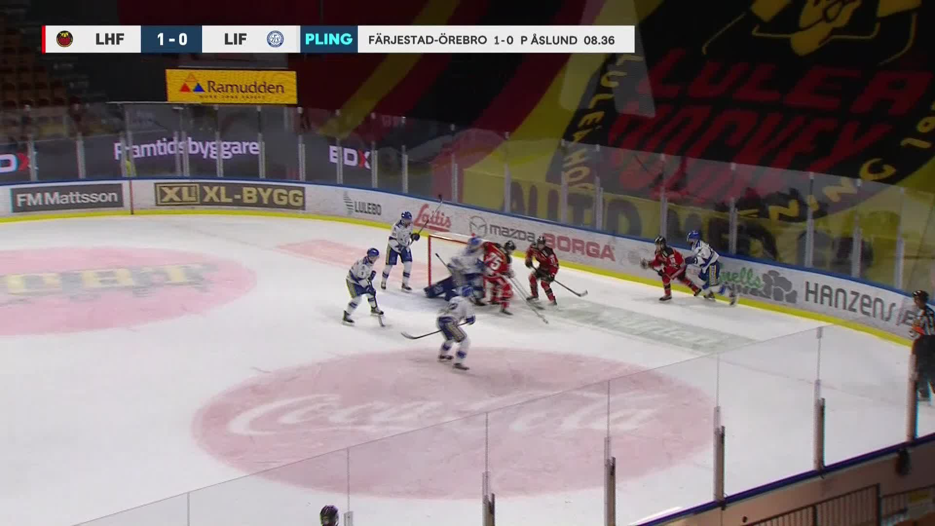 Luleå Hockey - Leksands IF 2-0