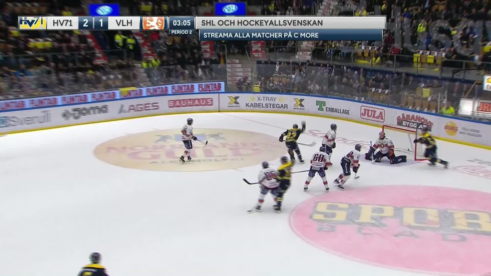 HV71 - Växjö Lakers 3-1
