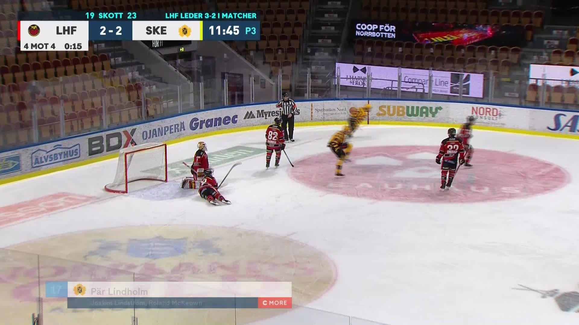 Luleå Hockey - Skellefteå AIK 2-3
