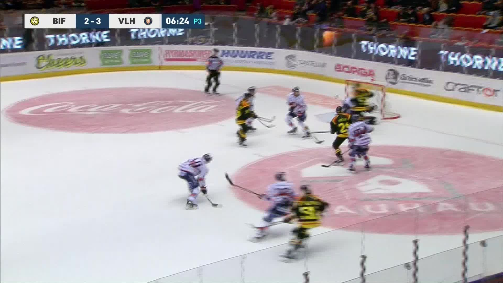 Brynäs IF - Växjö Lakers 3-3