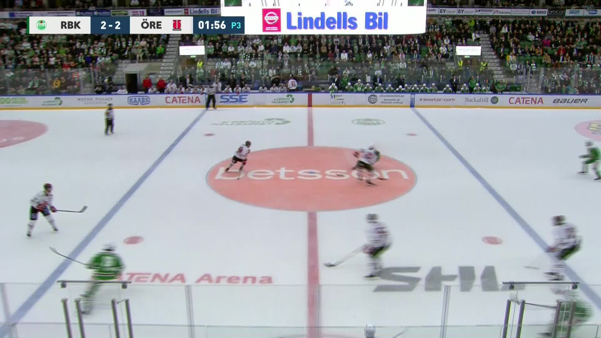 Rögle BK - Örebro Hockey 2-3