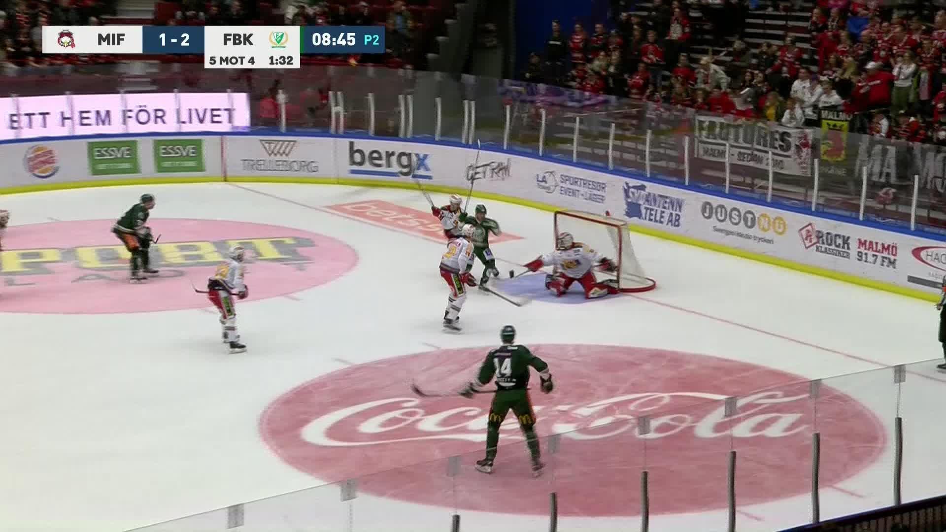 Malmö Redhawks - Färjestad BK 1-3