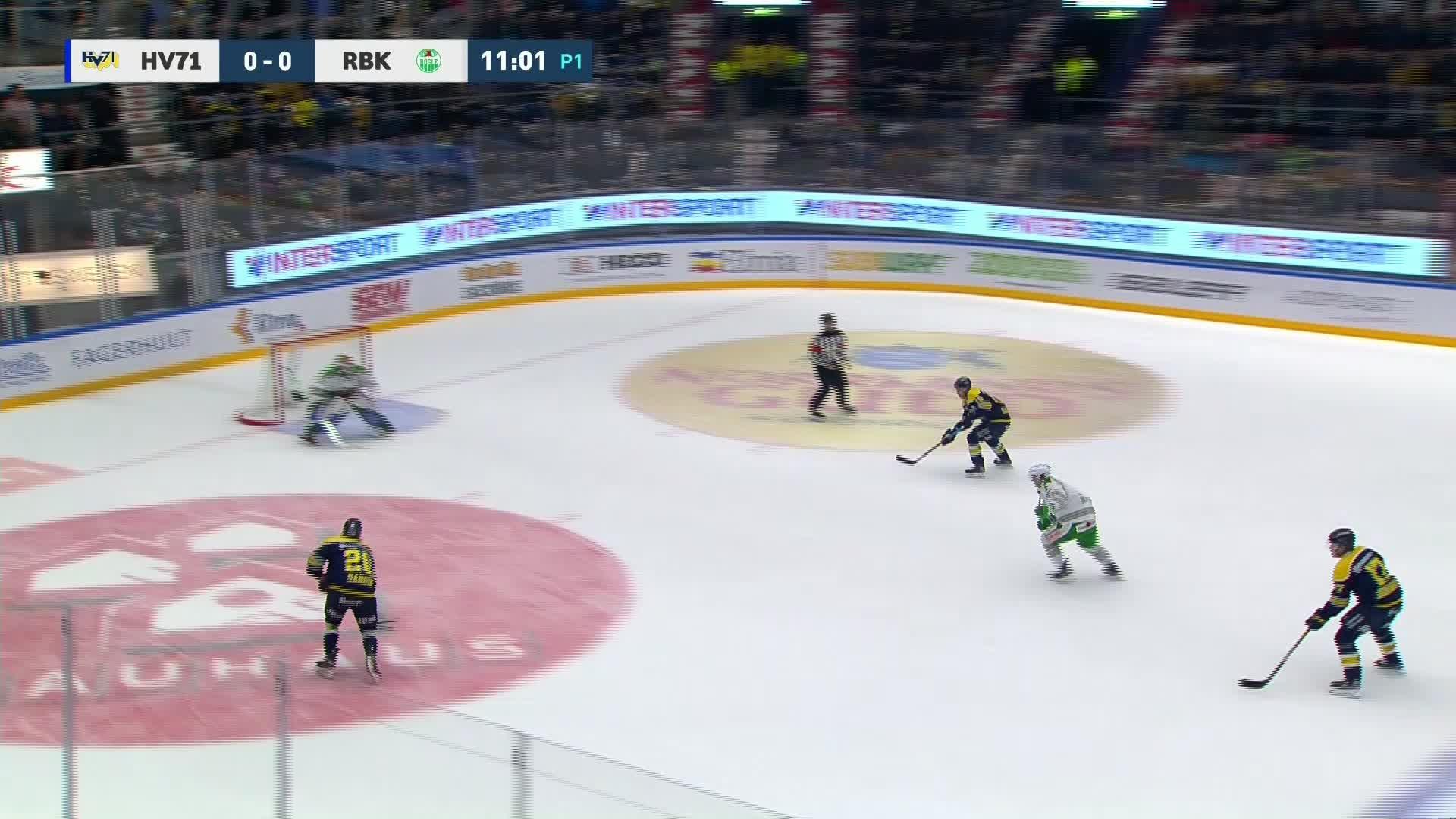 HV71 - Rögle BK 1-0