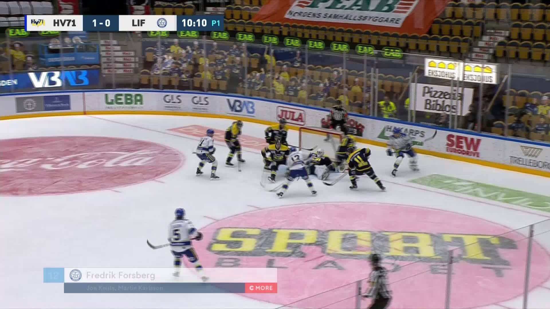 HV71 - Leksands IF 1-1