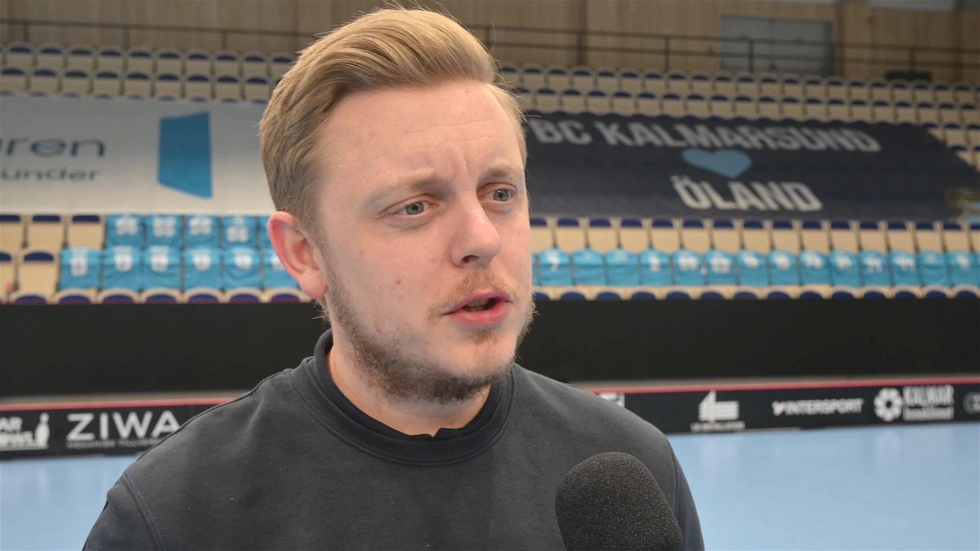Brinkmann efter första semifinalen