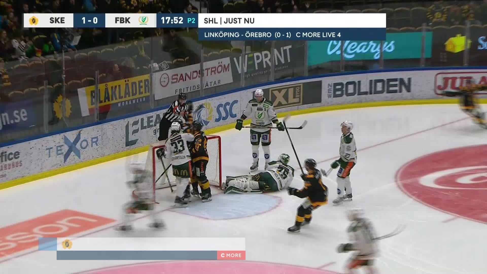 Skellefteå AIK - Färjestad BK 2-0