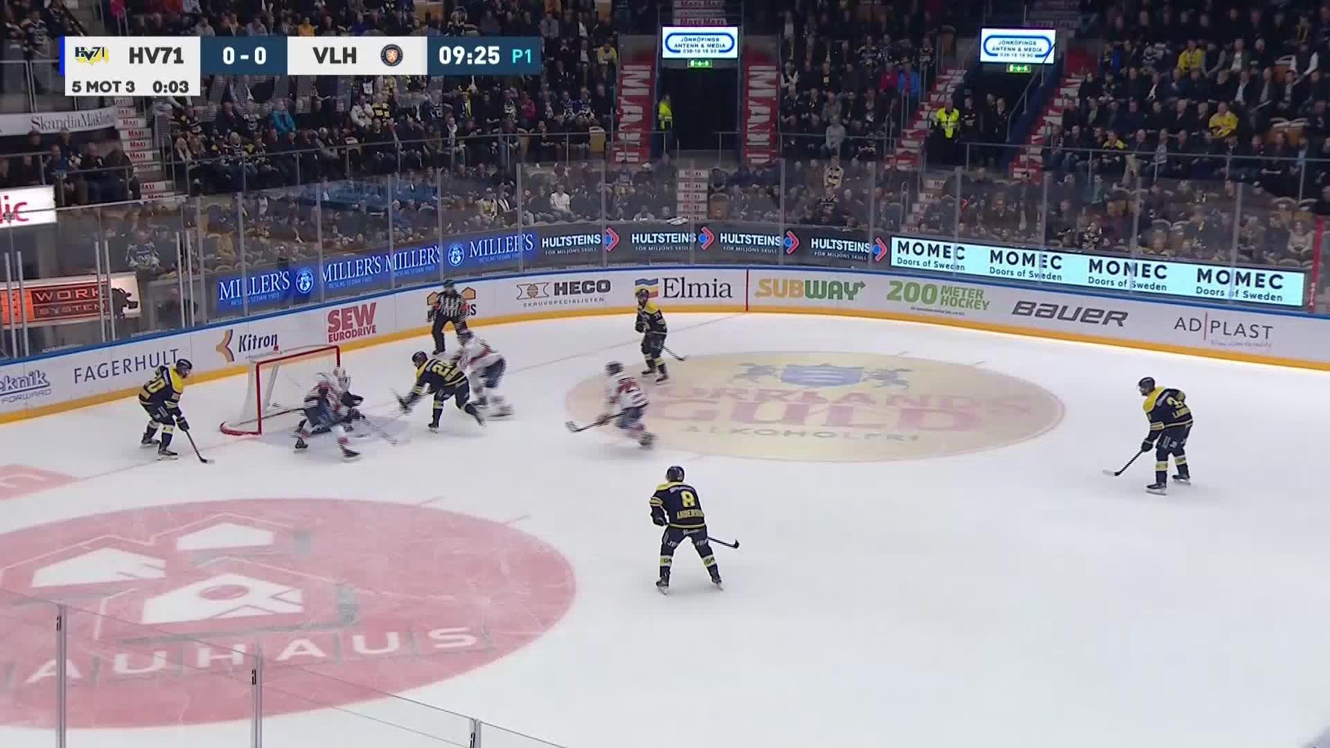 HV71 - Växjö Lakers 1-0