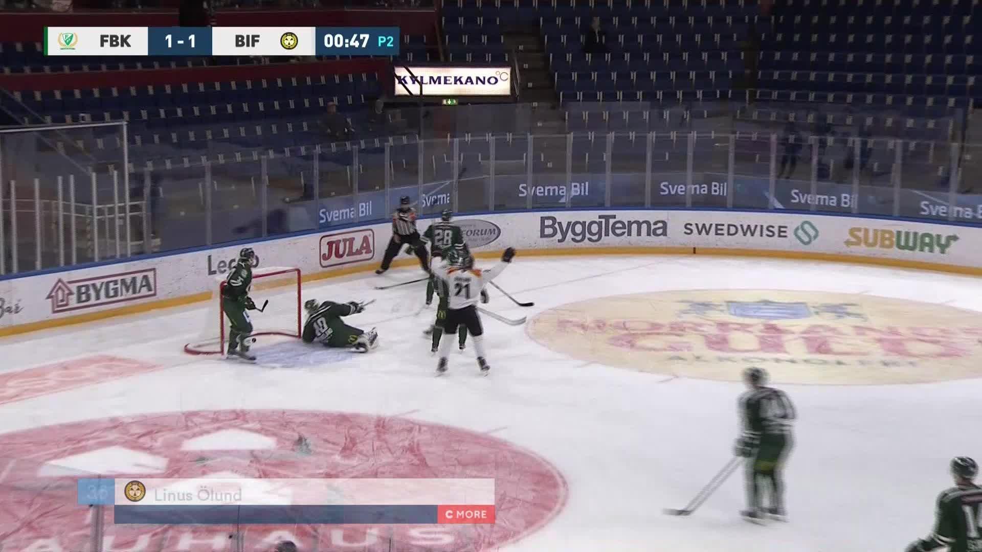 Färjestad BK - Brynäs IF 1-2