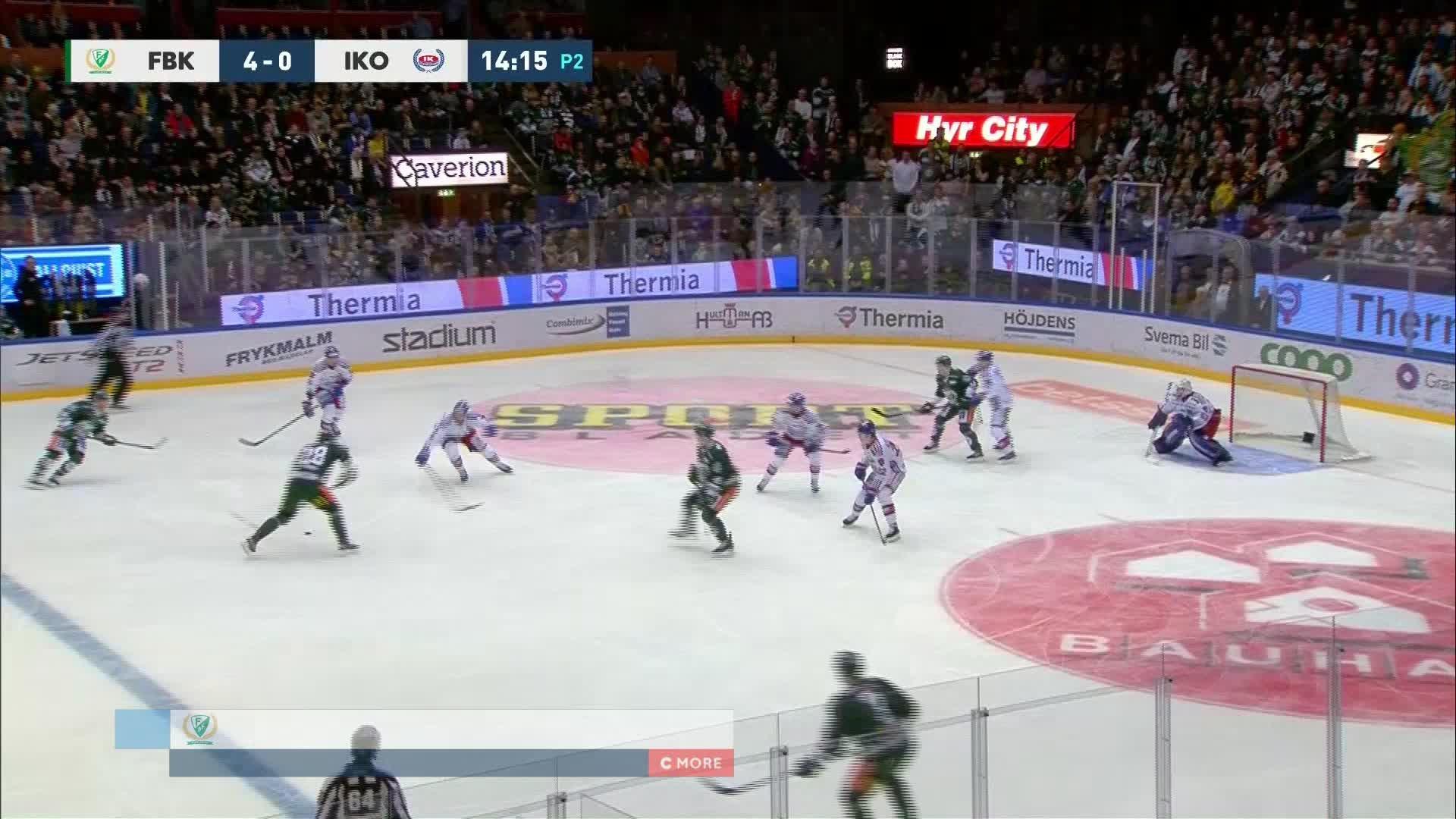Färjestad BK - IK Oskarshamn 5-0
