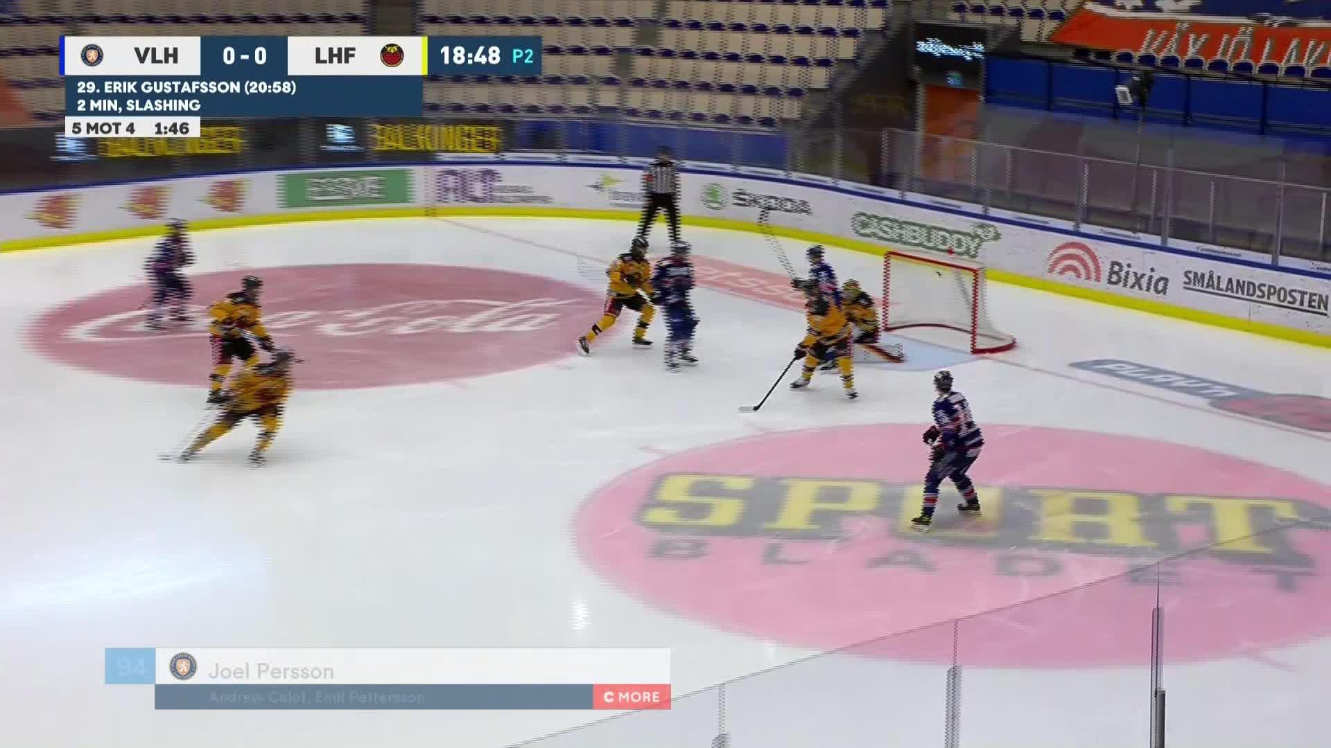 Växjö Lakers - Luleå Hockey 1-0