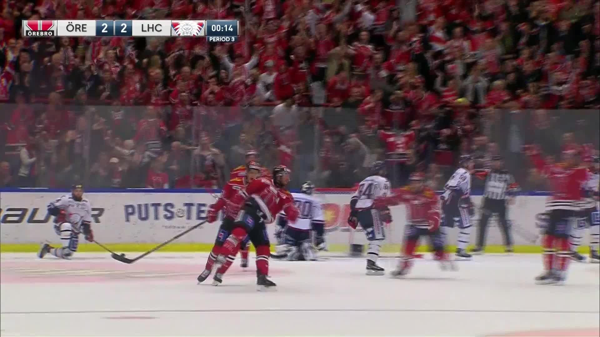 Örebro Hockey - Linköping HC 2-2
