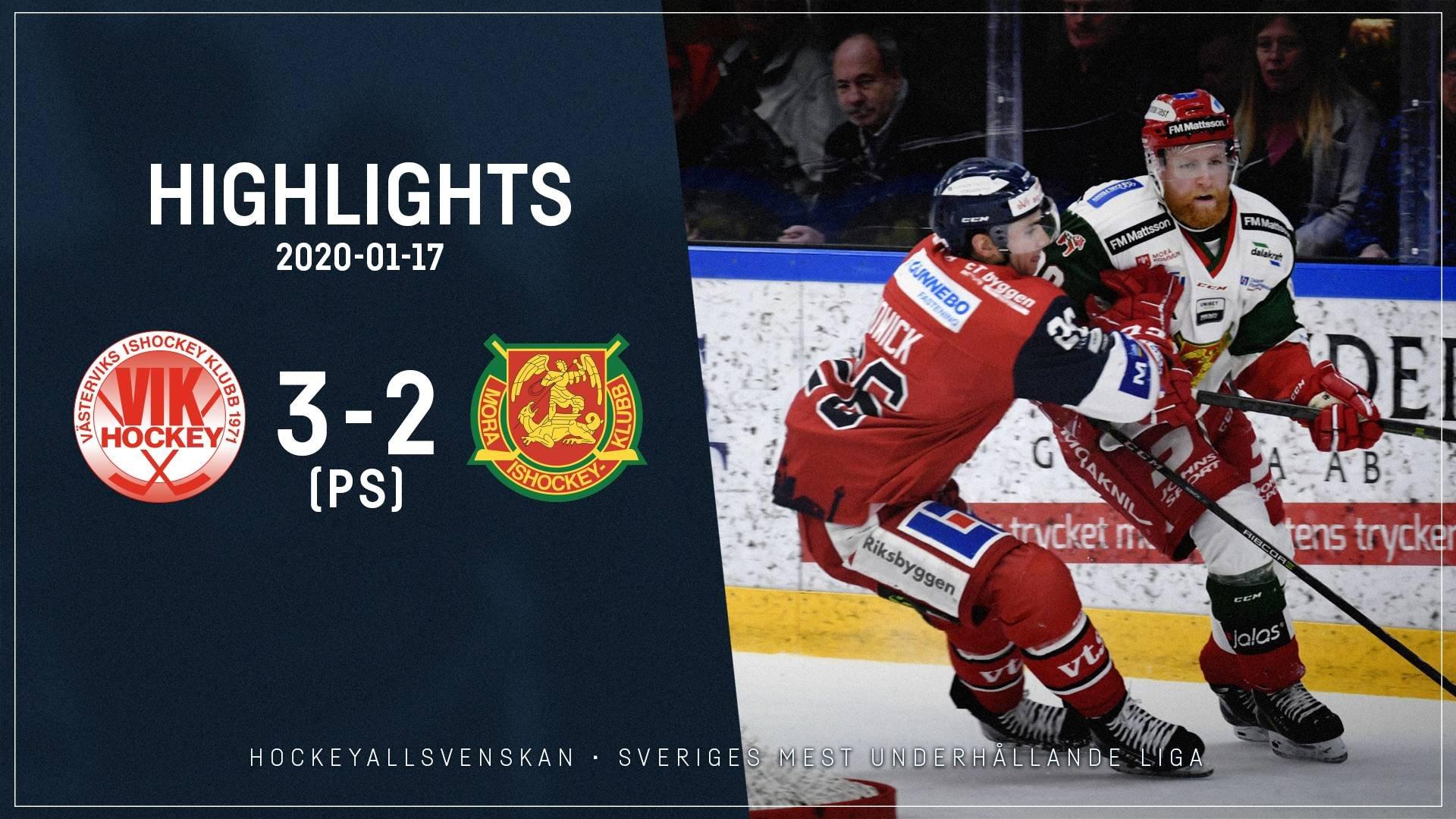 2020-01-17 Västervik - Mora 3-2 (PS)