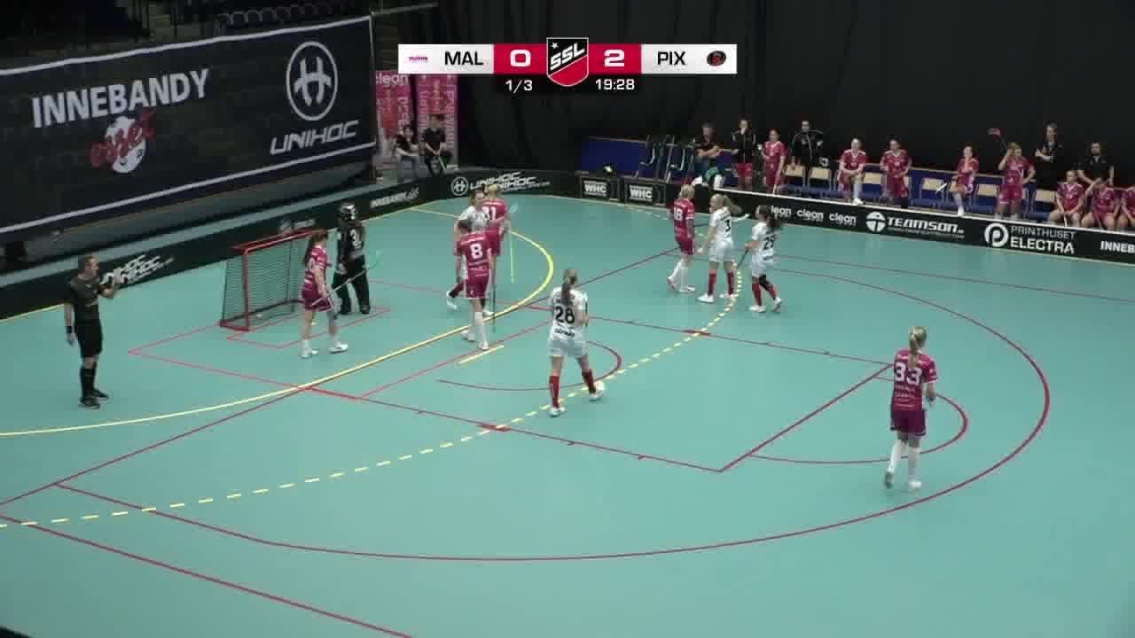 Highlights: Malmö FBC - Pixbo Wallenstam IBK