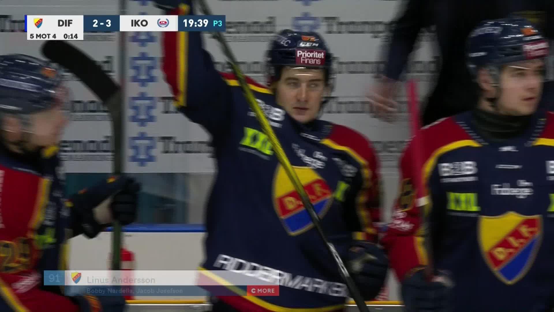 Djurgården Hockey - IK Oskarshamn 2-3